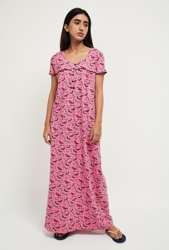 MAX Butterfly Print Night Dress