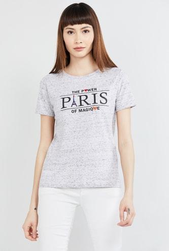MAX Printed Half Sleeves T-shirt