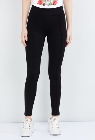 MAX Solid Full-Length Treggings
