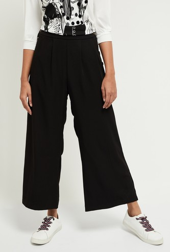 MAX Solid Flared Culottes