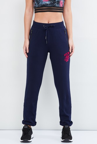 MAX Solid Tape Detailed Regular Fit Joggers