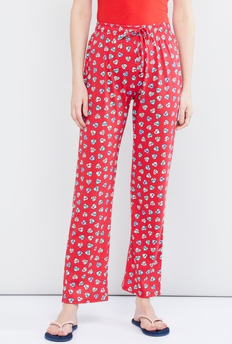 MAX Printed Pyjama Pants with Drawstring Waist