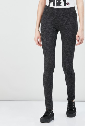 MAX Printed Elasticated Leggings