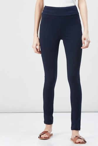 MAX Solid Elasticated Leggings