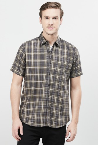 MAX Checked Regular Fit Casual Shirt