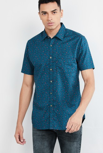 MAX Printed Short Sleeves Casual Shirt