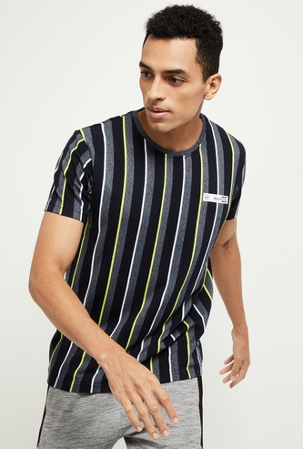 MAX Striped Slim Fit Crew Neck T-shirt