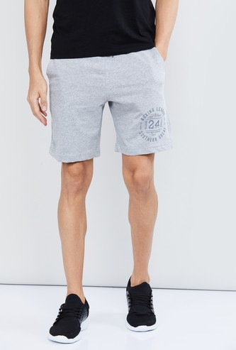 MAX Printed Shorts with Drawstring Waist