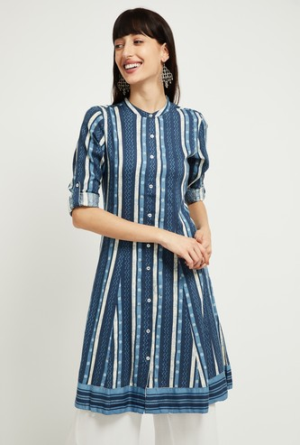 MAX Striped A-line Kurta