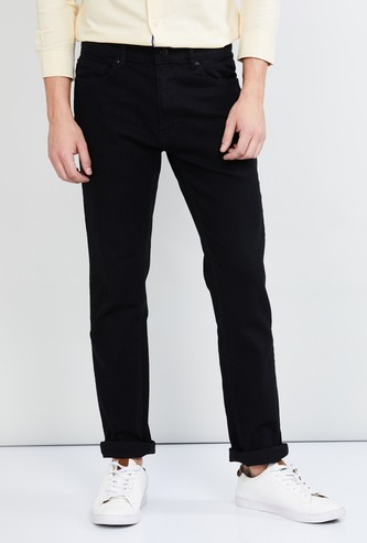 MAX Solid Regular Fit Jeans