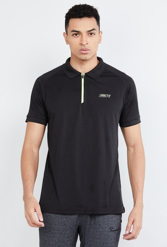 MAX Freshon & Neudri by N9 Solid Sports Polo T-shirt