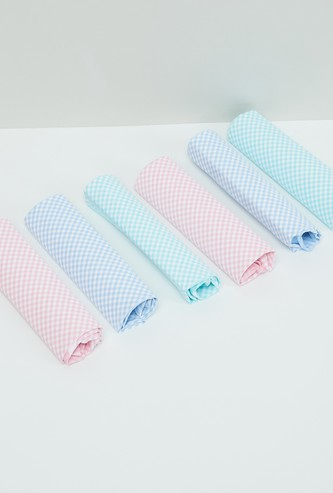 MAX Checked Handkerchief- Set of 5