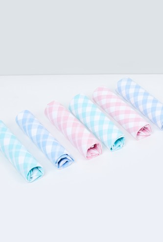 MAX Checked Handkerchief- Pack of 6