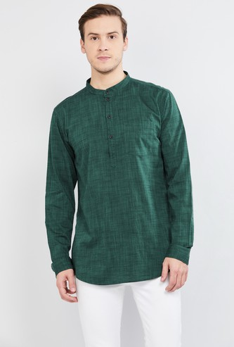 MAX Solid Short Shirt Kurta