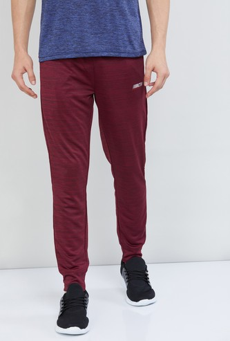 MAX Freshon & Neudri by N9 Textured Full-Length Track Pants