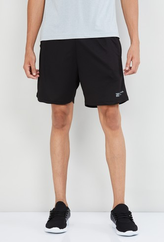 MAX Freshon & Neudri by N9 Solid Elasticated Shorts