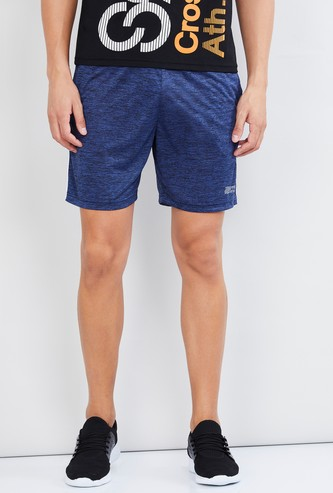 MAX Textured Regular Fit Sports Shorts