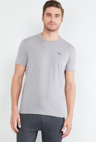 MAX Solid Short Sleeves Regular Fit T-shirt