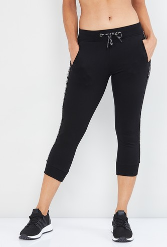 MAX Printed Knitted Capris