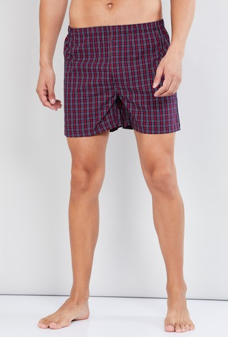 MAX Checked Cotton Boxers
