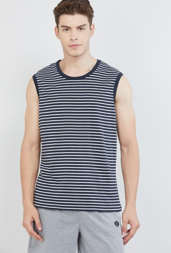 MAX Striped Lounge T-shirt