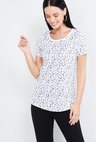 MAX Printed Short Sleeves T-shirt