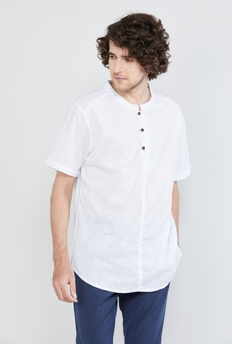 MAX Textured Short Kurta