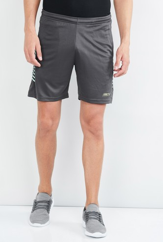MAX Freshon & Neudri by N9 Printed Elasticated Shorts
