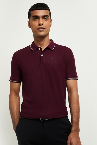 MAX Solid Short Sleeves Polo T-shirt