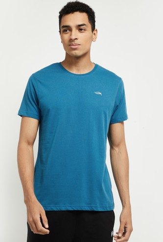 MAX Solid Crew-Neck Lounge T-shirt