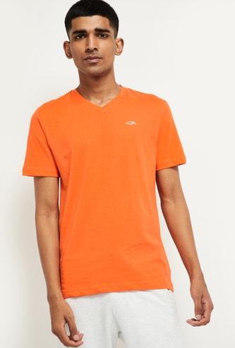 MAX V-neck Slub T-shirt