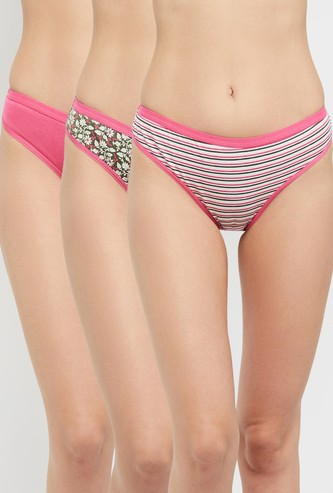 MAX Assorted Hipstet Panties- Pack of 3