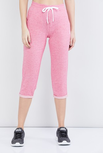 MAX Textured Elasticated Capri