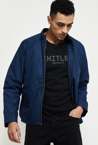 MAX Solid Zip-Closure Jacket