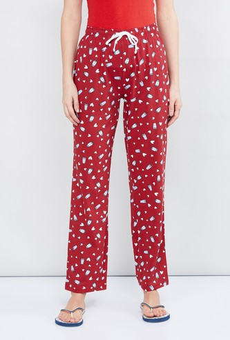 MAX Printed Full-Length Lounge Pants
