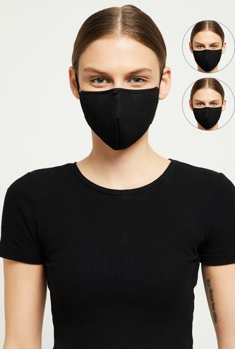 MAX 3-Layered Reusable Masks - Pack of 3