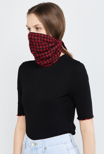 MAX Checked Convertible Bandana Mask