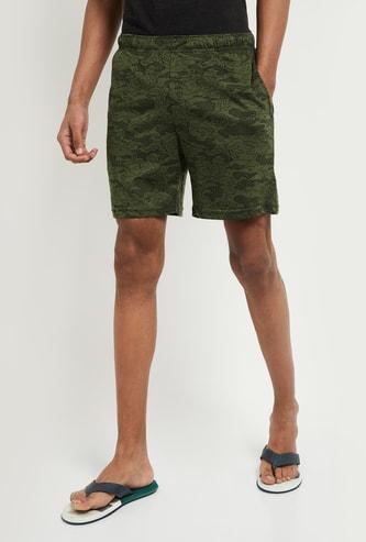 MAX Printed Shorts with Insert Pockets