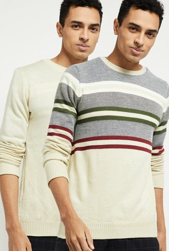 MAX Colourblocked Reversible Sweater