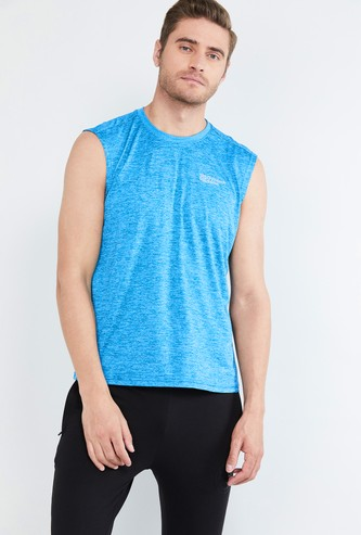 MAX Freshon & Neudri by N9 Textured Sleeveless T-shirt