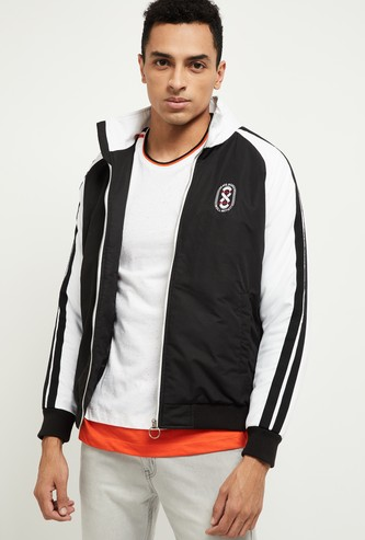 MAX Padded Bomber Jacket with Raglan Sleeves