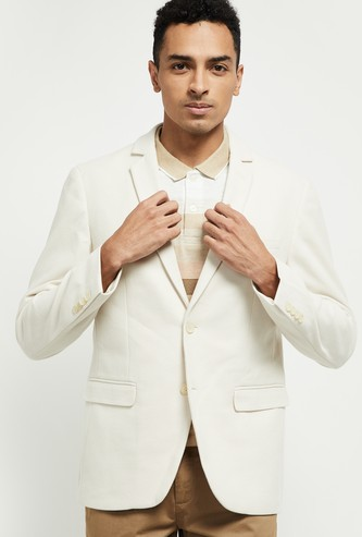 MAX Textured Full Sleeves Blazer
