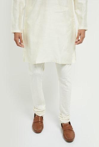 MAX Solid Ethnic Pyjama Pants with Drawstring Waist