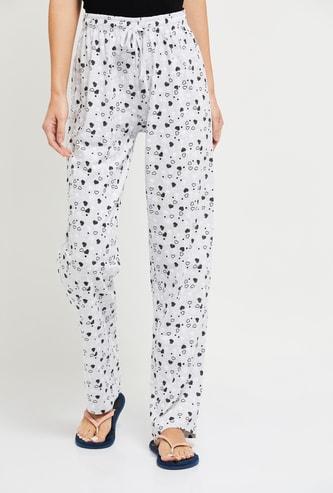 MAX Heart Print Pyjama Pants