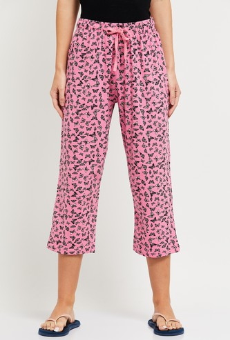 MAX Butterfly Print Capris