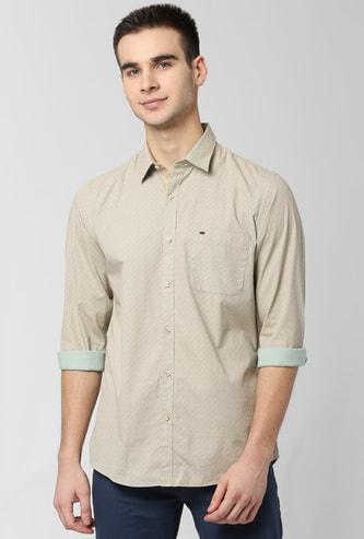 PETER ENGLAND Printed Slim Fit Casual Shirt