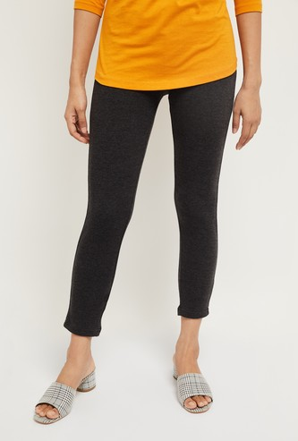 MAX Textured Cropped Leggings
