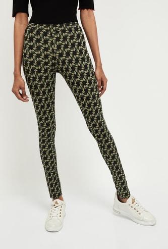 MAX Printed Knitted Leggings