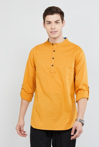 MAX Solid Short Kurta