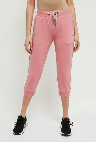 MAX Solid Three-Fourth Joggers